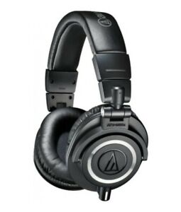 Audio Technica ATH-M50x Professional Studio Monitor Headphones Pro Headset Black
