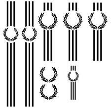 Fits Vespa PX Laurel Sticker Set  Leg/sh - Panels - Tool/b plus spares Skin Mod