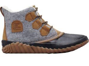 SOREL Out 'N About Plus Quarry Womens Boots 9.5 Short Bootie