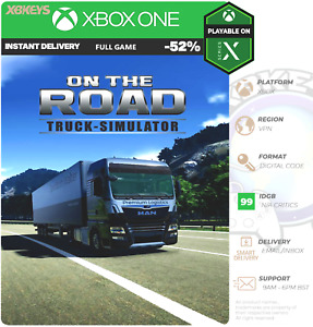 On The Road The Truck Simulator Xbox One/SeriesX S Digital Code 🖥️   INSTANT