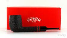 Pipe SAVINELLI St. Nicholas 2014 703 KS rusticated shape lovat 6mm