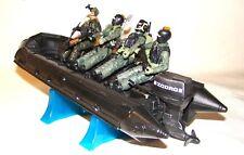 1:18 BBI Elite Force U.S Navy SEAL Assault Boat ZODRG  with Figures Soldiers