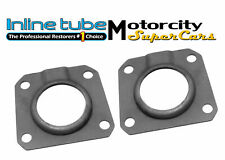 64-69 442 GS GTO JUDGE  REAR AXLE BEARING SEAL RETAINERS  AXLE SHAFT DRUM PLATE