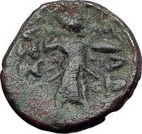 LARISSA Thessaly THESSALIAN LEAGUE 2-1BC Apollo Athena Ancient Greek Coin i60883