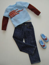 Barbie/ KEN Clothes/Fashions Shirt/Jeans/Shoes NEW!