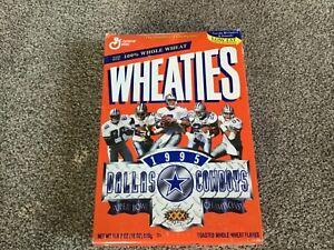 1995 Dallas Cowboys Wheaties Box Super Bowl XXX