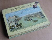 Vintage tin Royal Doncaster Butter-Scotch, St Leger 1836, Lord Lichfield's Ellis