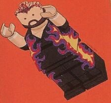 WWF Bam Bam Bigelow Bam Bam Brickelow Brickmania LEGO Collector Card, WCW, ECW