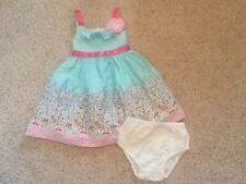 Toddker Girl Size 2T Dress With Bloomers ( Jessica Ann)