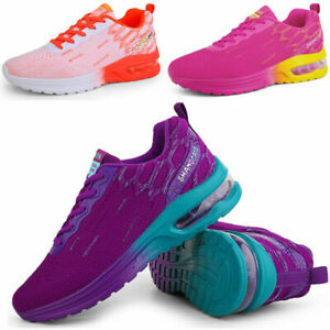 Air Cushion Women's Shoes Breathable Running Tennis Sports Casual Sneakers Gym