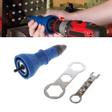 Electric Rivet Gun Tool Nut Riveting Insert Hand Pop Drill Heavy Duty Cordless