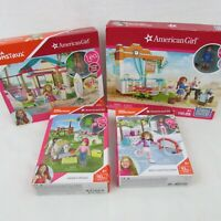 American Girl Mega Construx Lot of 4 Lea, Saige, Mia Building Toys