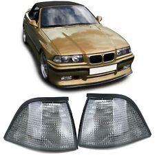 Blinker Schwarz Smoke Paar für BMW 3er E36 Coupe Cabrio 91-99