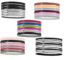 Elastic Hair Tennis Nike Swoosh Sport Headbands 6PK 2.0 Various Colours Nadal