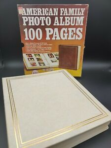 Vintage 100 Magnetic Page Photo Album - Never Used in Box Kleer-Vu