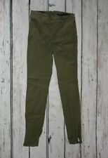 Women's Forever 21 Army Green Skinny Jeans Size Small