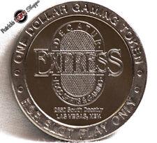 $1 ROUTE SLOT TOKEN DECATUR EXPRESS CASINO 1997 CT MINT LAS VEGAS NEVADA COIN
