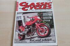 151784) MZ Story - Honda GL + CX Modelle - Classic Cycles 01/1994