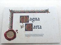 2015 Royal Mint Magna Carta 800th Anniversary BU £2 Two Pound Coin Folder