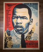 Shepard Fairey Obey Giant John Lewis Good Trouble Art Print Poster Signed XX/550