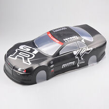 RC 1:10 Scale On-Road Drift Car Painted PVC Body Shell 190MM W/Rear Wing 020GR