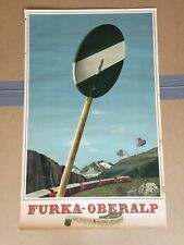 COLLECTION AFFICHE PUBLICITAIRE ANCIENNE  SUISSE  1950