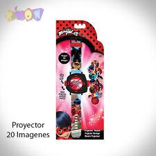 9782 Reloj Prodigiosa Ladybug Proyector