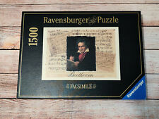 Rare Collectable Ludwig van Beethoven 1500 Piece Jigsaw Puzzle Ravensburger