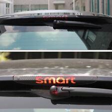 Carbon Fibre Rear Brake Light Sticker for Mercedes Benz SMART Fortwo Forfour