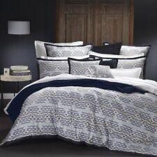 ROYAL DOULTON ELTON INDIGO Queen Size Bed Doona Duvet Quilt Cover Set NEW