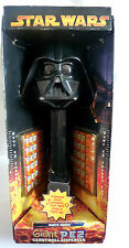 STAR WARS / DARTH VADER GIANT PEZ DISPENSER IN BOX WITH  CANDY / 12 INCHES TALL