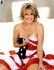 Amanda Tapping Covering The Flag 8x10 Photo Print