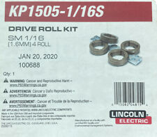"""New listing Lincoln Electric Kp1505-1/16S Drive Roll Kit - 1/16"""" Solid. Free Shipping"""