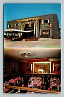 Miami Beach FL, Arthur Wilde's Restaurant, Florida Chrome Postcard
