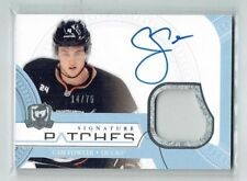 11-12 UD The Cup Signature Patches  Cam Fowler  /75  Auto  Patch
