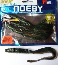 Noeby pêche leurre souple odorant worm twist 14cm non étiré 13g couleur 211
