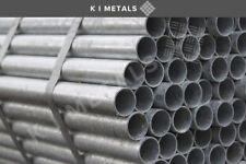Galvanised Medium Handrail Tube 1100mm - 3500mm | Scaffolding Handrail Tube/Pipe