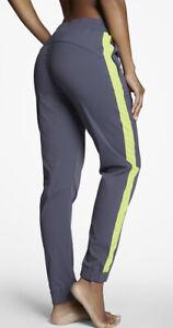 Fabletics Women's Dunedin Jogger Pants Gray Green Stripe Size XS
