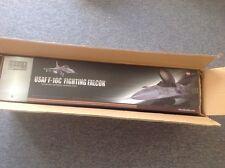 VINTAGE BBI USAF F-16C FIGHTING FALCON model 1:18 plane, ELITE FORCE LIMITED ED.