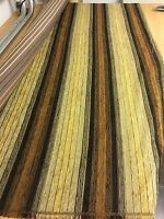 SUPER LUXURIOUS BROWN CHENILLE UPHOLSTERY FABRIC 2.5 METRES
