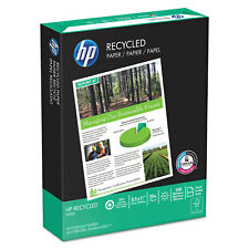HP Office Recycled Paper 92 Brightness 20lb 8-1/2 x 11 White 5000 Shts/Ctn