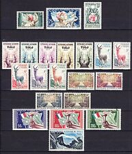 TOGO - YEAR 1957 + 1958 COMPLETE MINT NEVER HINGED