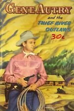 1944 UK PRINT GENE AUTRY & THE THIEF RIVER OUTLAWS HARDBACK BOOK