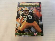 1995 Green Bay Packers Official Media Guide Book Ken Ruettgers on cover