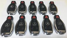 LOT of 10 MERCEDES BENZ MB CHROME SMART KEY keyless remote transmitter IYZDC10