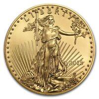 2018 1 oz Gold American Eagle Coin BU - SKU #159696
