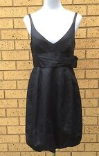 Scanlan And Theodore Dress Dark Grey Cocktail Dinner Evening Party Size 10