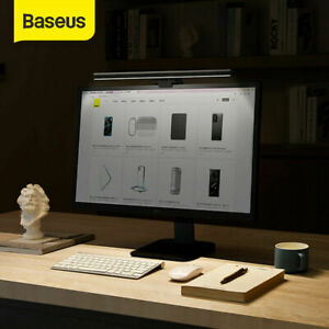 Baseus LED USB Screen Clamp Desk Lamp Table Reading PC Monitor Hanging Light