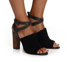 Mimco 💞 Leather Twilight Heels Pump Sandals Shoes 41 Or 10 $249