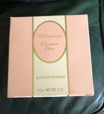 Vintage Christian Dior Diorissimo  4oz Dusting Powder - NIB